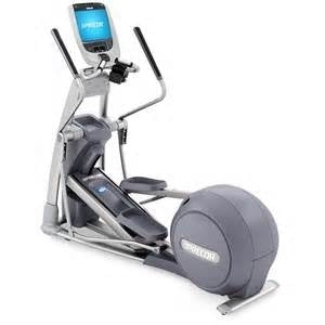 Precor Elliptical EFX 885 with P80 Console Touch Screen (Pre-Owned, Extra Clean & Serviced)