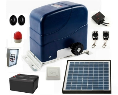 Compete 2HP Solar Powered Gate Opener w/Accessories