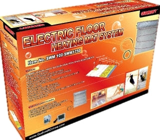 400 Watt Electric Floor Heating System -35 Square Feet With Mat