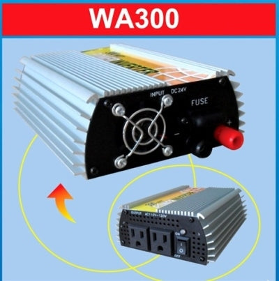 300 Watt Wind Power Inverter (12 Volt)