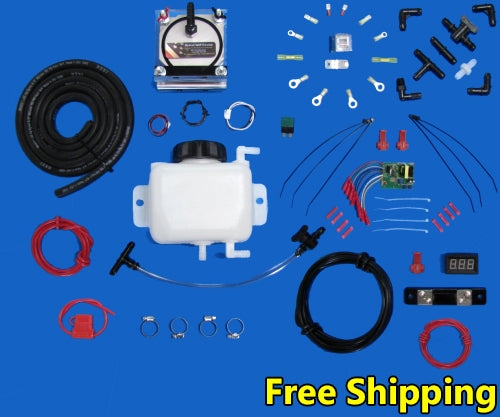 HHO Hydrogen Generator Complete Kit With Free Shipping - 1995-1987 Fuel Injected Odb Board - Model 906