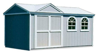 High Quality Tudor 10' x 14' Garden Tool Shed Kit