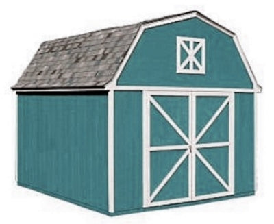 High Quality Pastoral 10' x 14' Garden Tool Shed Kit