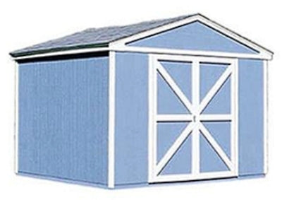 High Quality Tudor 10' x 8' Garden Tool Shed Kit