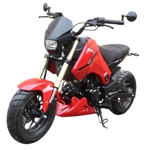 125cc Vader 2 Motorcycle Moped Scooter w/ Manual Trans - PMZ125-1