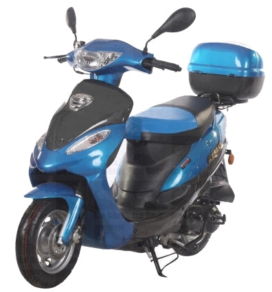 Brand New 50cc Moped Scooter 4 Stroke Maui Dreamer Deluxe