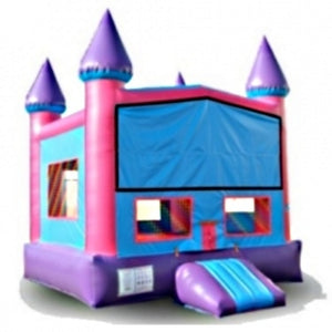 Commercial Grade Inflatable Pink Module Castle Bouncer Bouncy House