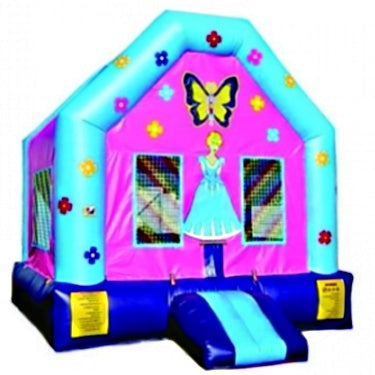 Commercial Grade Inflatable Princess Doll House Bouncer Bouncy House