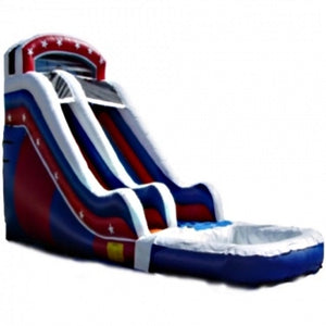 Commercial Grade Inflatable USA Water Slide