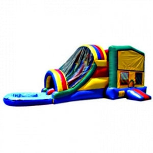 Commercial Grade Inflatable 3in1 Module Water Combo Bouncy House