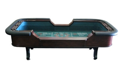 High Quality 8 Foot Authentic Casino Style Craps Table