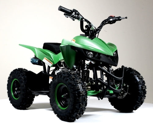 50cc Gas Atv Kids Youth Sport Quad With Electric Start & Throttle Limiter W/ 58cc Motor - Model 6B PLUS
