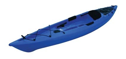 12 ft Polyethylene Sit-On Kayak w/ Portable Accessory Carrier