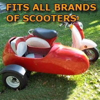 All Brands Side Car Scooter Sidecar Kit