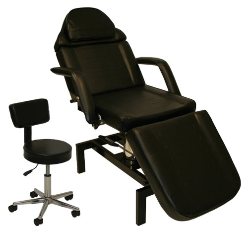 Hydraulic Adjustable Facial Salon Chair With FREE Black Stool