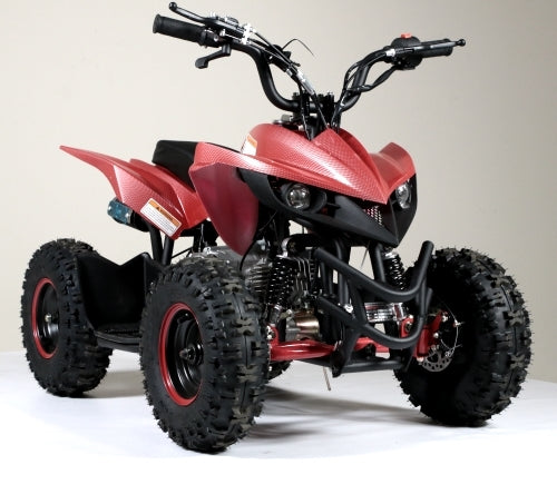 50cc Gas Kids Atv Small Sport Quad With Electric Start & Throttle Limiter W/ 58cc Motor - Model 6B PLUS