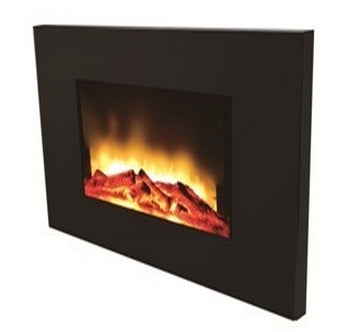 750W/1500W Wall-Mount Electric Fireplace Heater