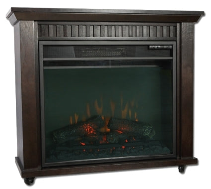 High Quality Espresso Finish Electric Fireplace Heater
