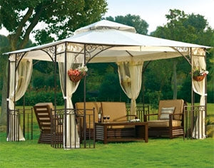 High Quality 10' x 12' Outdoor Gazebo with Mosquito Netting