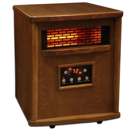 1500 Watt Lifesmart Infrared 4 Element Quartz Heater w/ Remote Control