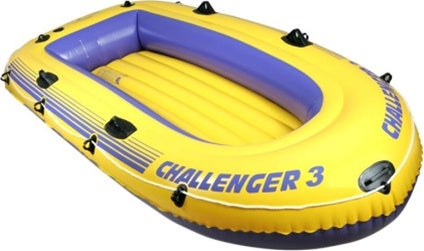 3 Person Inflatable Boat Set