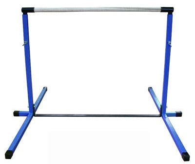 High Quality Blue 3'-5' Adjustable Gymnastics Bar
