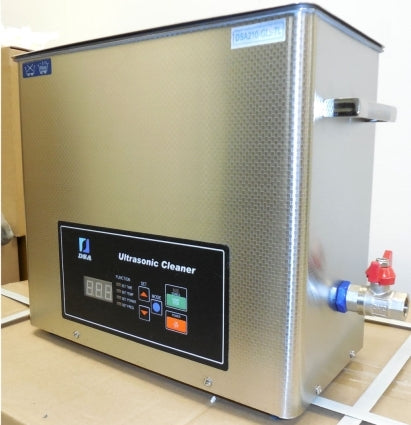 Brand New 6L Stainless Steel DUAL FREQUENCY 20kHz 40kHz Ultrasonic Cleaner 1.6 Gallon