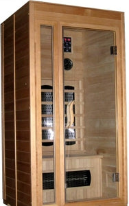 1-2 Person Ceramic Sauna with Upgraded Heater System