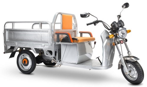500 Watt Electric Powered Cargo Truck Motorized Scooter Moped Truck 3 Wheel Trike Bicycle