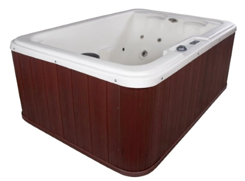 Navigator 4 Person Plug & Play Hot Tub Spa w/ 10 Therapeutic Stainless Steel Jets