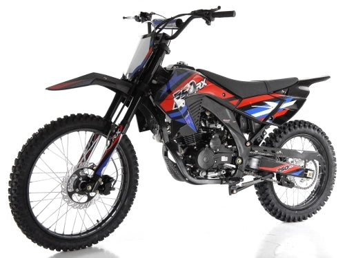 250cc Apollo 4 Stroke Manual Dirt Bike - APOLLO AGB-36N-250cc