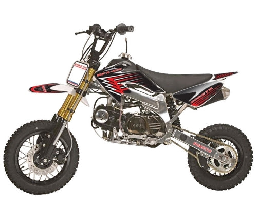 125cc Dirt Bike 4-Speed 4 Stroke Manual Pit Bike - DB-25
