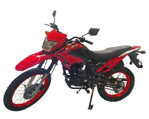 Hawk 2 ELITE - 250cc Enduro Dirt Bike 5 Speed Manual With Electric / Kick Start Remote Start / Alarm Street Legal - Model DB-41HC-250