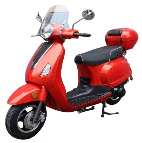 Brand New 50cc 4 Stroke Retro Style Moped Scooter - MC-130-50cc