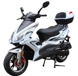 Brand New 150cc MC-48-150 Gas Scooter Moped Bicycle