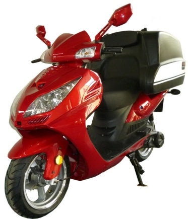 Brand New 150cc Air Cooled Pizza Delivery Moped Scooter