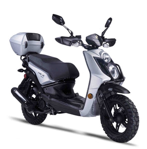 Znen 150cc 8.5 HP 2016 Gas Moped Scooter With Remote Start & Alarm - RX-150-California-Pickup