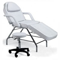 Basic Facial and Massage Bed and Table plus free hydraulic stool