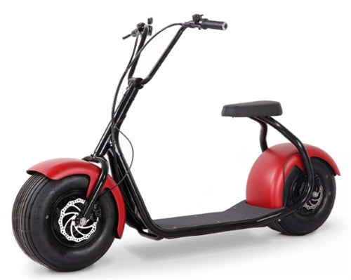 SSR 800 Watt Fat Tire Lithium Powered Electric Scooter - SEEV-800