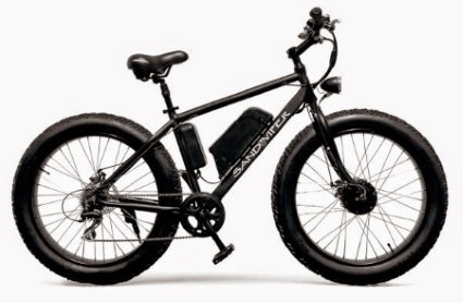 Brand New SSR Motorsports 350 Watt Sand Viper Fat Tire Electric Bike