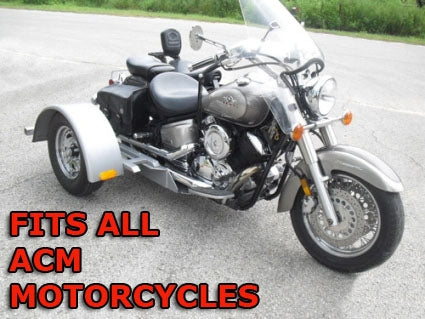 ACM Motorcycle Trike Kit - Fits All Models