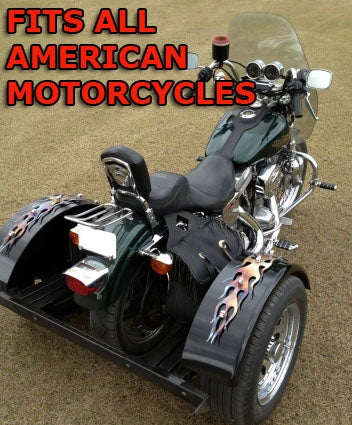 American Motorcycle Trike Kit - Fits All Models