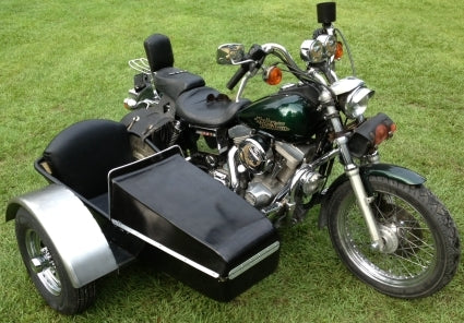 American Quantum Cycles Side Car Motorcycle Sidecar Kit