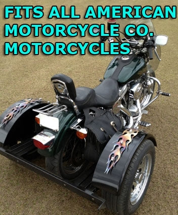 American Motorcycle Co. Motorcycle Trike Kit - Fits All Models