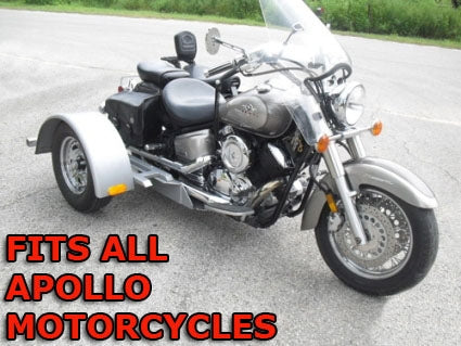 Apollo Motorcycle Trike Kit - Fits All Models