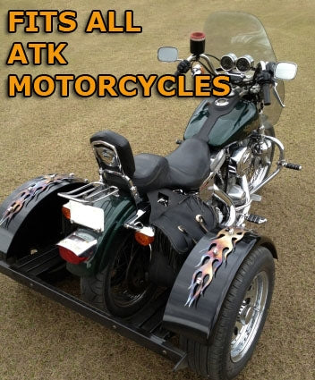 Atk Motorcycle Trike Kit - Fits All Models