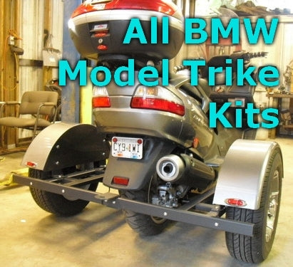 Scooter Trike Kit - Fits BMW Models