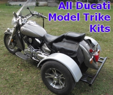 Ducati Motorcycle Trike Kit - Fits All Models