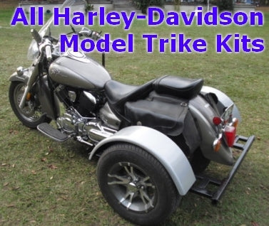 Harley-Davidson Motorcycle Trike Kit - Fits All Models