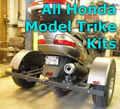Honda Scooter Trike Kit - Fits All Models